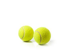 Hotel-Dorer Tennisbälle